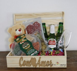Baú Cervejas com Aperitivos - PROMOÇÃO ESTOQUE LIMITADO