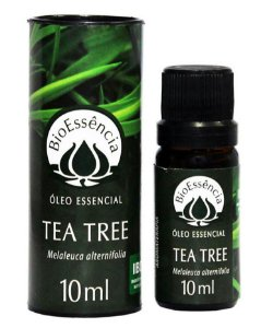 Óleo Essencial de Melaleuca (Tea Tree) - 10ml - BioEssência