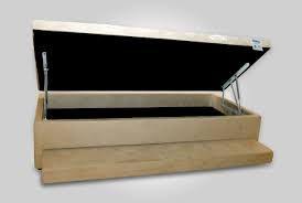 cama box com bau e auxiliar