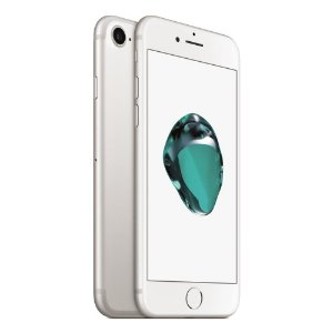 "IPhone 7 256GB Tela HD 4.7"" Câmeras 12MP/7MP, iOS 10, Sensor Touch ID,Resistente à Água, Wi-Fi - Prata"