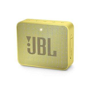 Caixa De Som JBL Go 2 Bluetooth Portátil Amarela