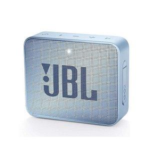 Caixa De Som JBL Go 2 Bluetooth Portátil Ciano