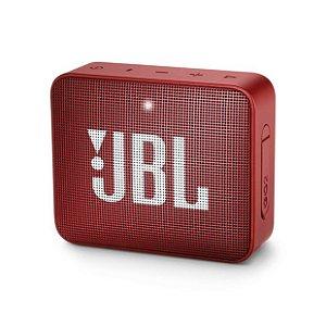 Caixa De Som JBL Go 2 Bluetooth Portátil Vermelha