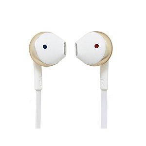 Fone De Ouvido In Ear JBL T205 Dourado