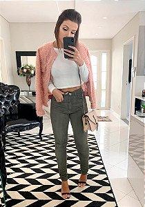 Casquinho Chanel Rosa