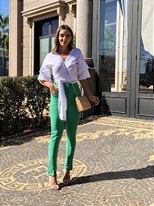 Calça verde