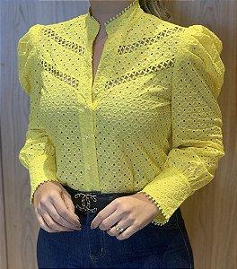 Camisa Amarela Leise