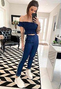 Calça Alfataria Azul