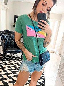 T- Shirt verde chanel