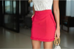 Shorts Saia Carminha