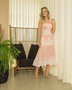 Vestido Mid Rosa Janaina