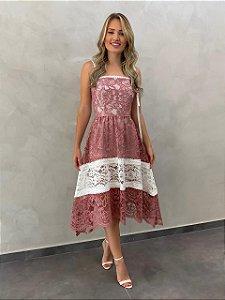 Vestido mid Leandra