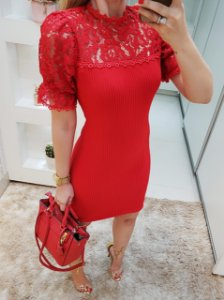 Vestido vermelho carla