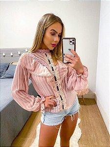 Blusa Leandra Rosa