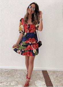 Vestido estampado Mel