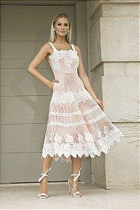 Vestido Mid Princesa