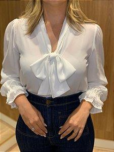 Blusa branca Laiane