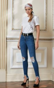 Calça jeans Veronica
