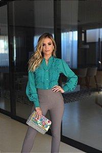 Camisa tricoline Aline