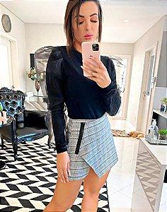 Shorts Saia Quadriculado