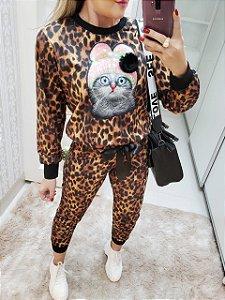 Conjunto Onça gatinho