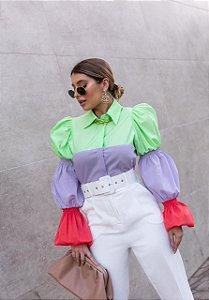 Camisa Tricolor