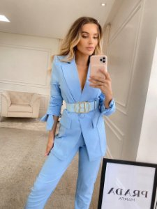 Blazer Isadora Azul