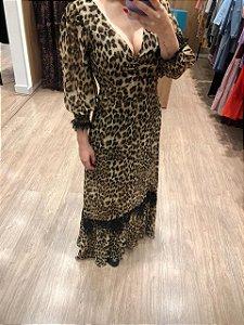 Vestido Onça Ana laura
