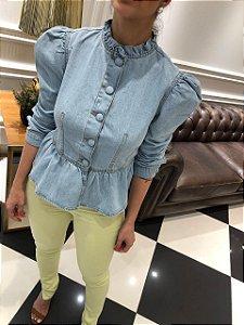Jaqueta jeans princesa