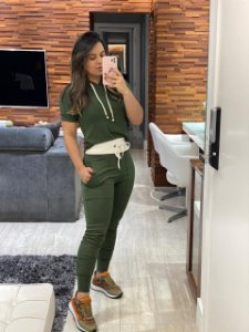 Conjunto Verde Militar