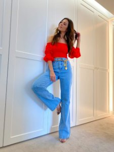 Calça jeans Elisa