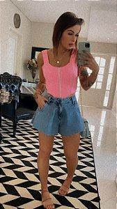 Shorts Fran jeans Pré venda