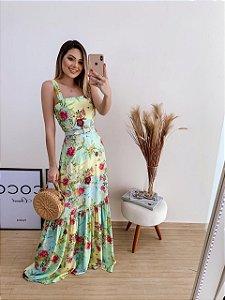 Vestido Flores Tami