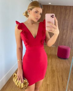 Vestido Ana Laura Red