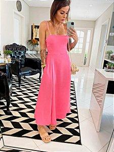 Vestido Pink Godê