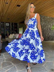 Vestido Blue Bay