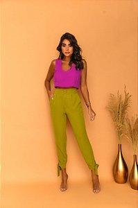 Calça verde Lis