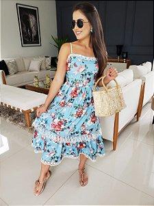 Vestido Mid Camila