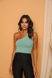Cropped Ombro Verde
