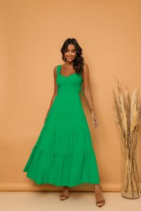 Vestido Longuete Verde