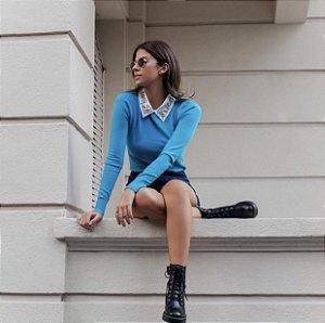 Trico Azul Gola