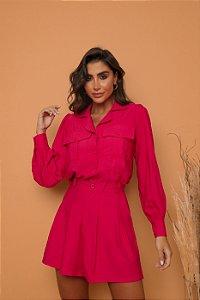 Conjunto Camisa + Shorts Pink
