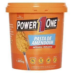 Pasta de Amendoin Integral Crocante 1 Kg Power One