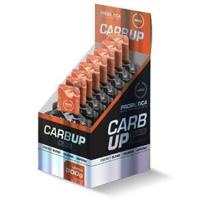 Carb Up Gel Black Caixa 10 Saches Sabor Laranja