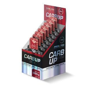 Carb Up Gel Black Caixa 10 Saches Sabor Morango