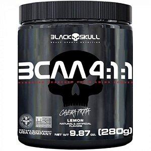 BCAA 4:1:1 Black Skull Caveira Preta 280 Gr