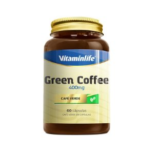 Green Coffee 400 Mg VitaminLife 60 Capsulas