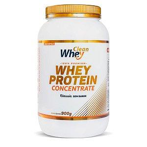 Whey Protein Concentrado 900 Gr Clean Whey