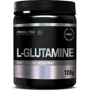 L - Glutamine 120 Gr Probiotica Sem Sabor