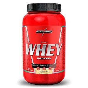 Nutri Whey Pote Protein Integralmedica 907 Gr